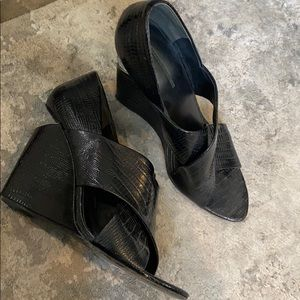 Alexander wang wedge sandals